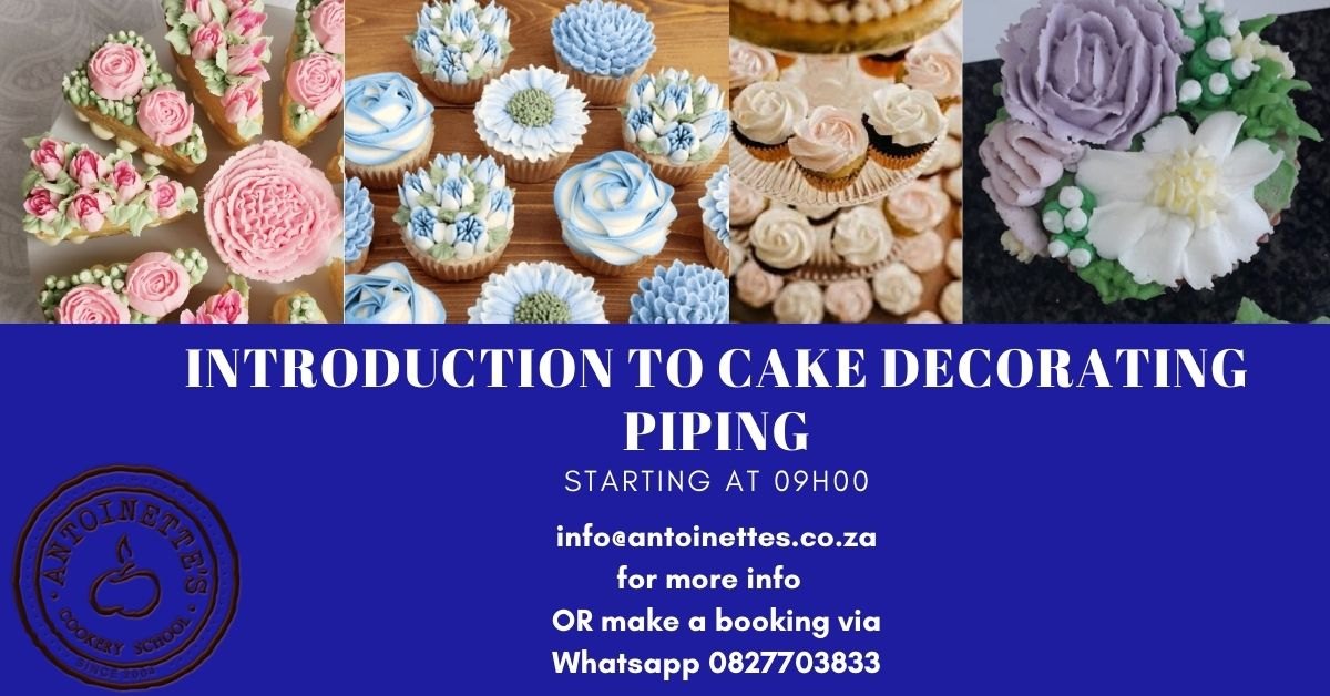 Introduction to cake decorating Piping: ...