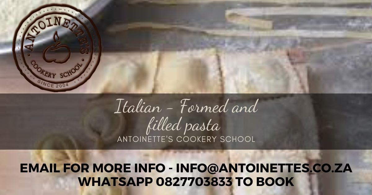 Italian 2 formed and filled pasta: ...