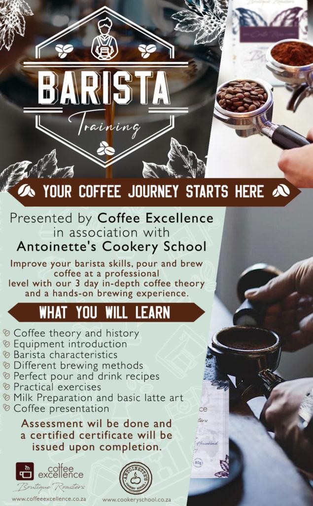 Barista Course Coffee Excellence: ...