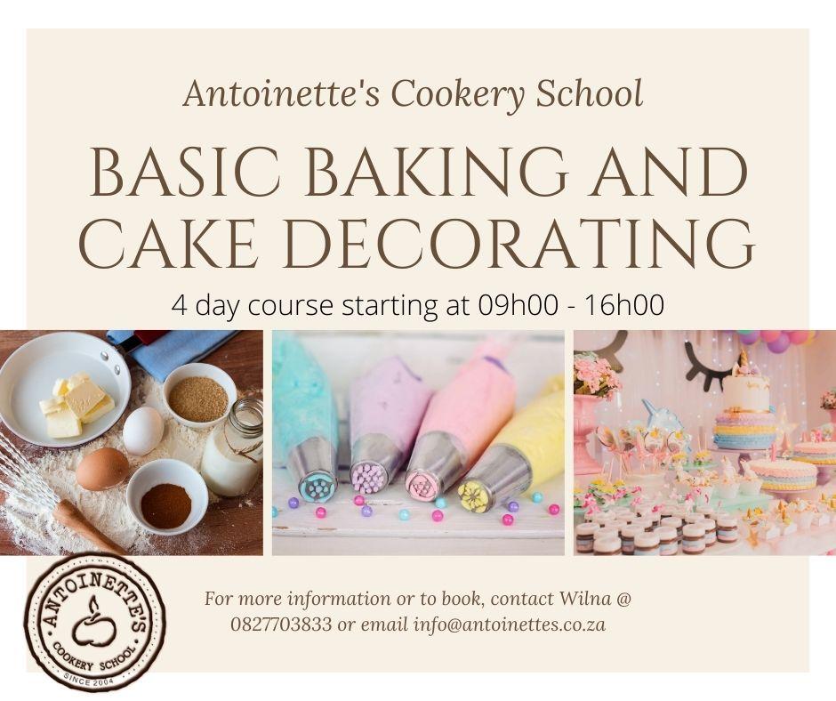 Basic baking and cake decorating: ...
